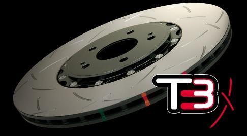 DBA CLUBSPEC T3 Rotor's